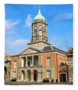 Dublin Castle Fleece Blanket