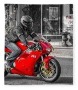 Ducati 748 Fleece Blanket