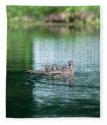Duck Call Fleece Blanket