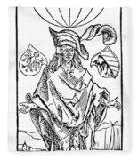 Durer: Syphilitic, 1496 Fleece Blanket