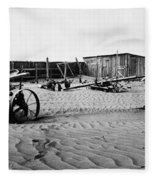 Dust Bowl, C1936 Fleece Blanket