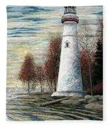 Eagle Bluff Light Fleece Blanket