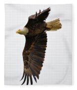 Eagle Flight Fleece Blanket