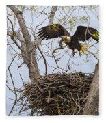 Eagle Nest Fleece Blanket