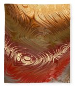 Earth Tones Fleece Blanket