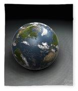 Earths Gravity Fleece Blanket
