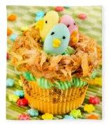 Easter Cupcakes  Fleece Blanket