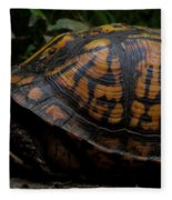 Eastern Box Turtle Fleece Blanket