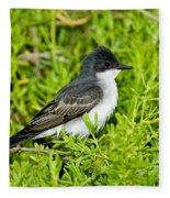 Eastern Kingbird Fleece Blanket