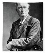 Edward Whymper (1840-1911) Fleece Blanket