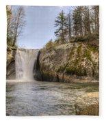 Elk Creek Falls 36 Fleece Blanket