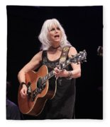 Emmylou Harris Fleece Blanket