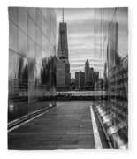 Empty Sky Memorial And The Freedom Tower Fleece Blanket