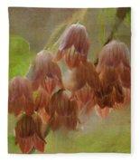 Enkianthus Bells Fleece Blanket