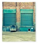 Factory Doors Fleece Blanket