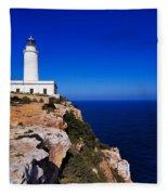 Far De La Mola On Formentera Fleece Blanket