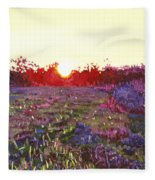 Farley Sunset Fleece Blanket