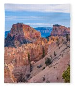 Farview Point At Bryce Canyon Fleece Blanket