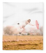 Fashion Storm Fleece Blanket