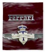 Ferrari 212 Fleece Blanket