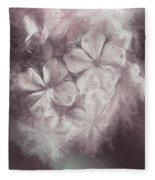 Fibonacci Flowers In Energy Manipulation Calculus Fleece Blanket