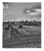 Fields Of Summer Fleece Blanket