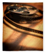 Film Reel Fleece Blanket