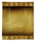 Film Strips Fleece Blanket