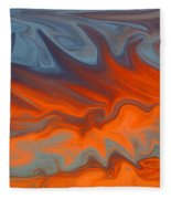 Fire Fleece Blanket