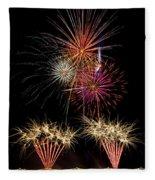 Fireworks  Fleece Blanket