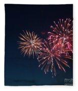 Fireworks Series Vi Fleece Blanket