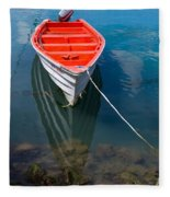 Fisherman's Boat Fleece Blanket