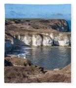 Flamborough Head Fleece Blanket