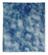Florida Clouds Above Fleece Blanket