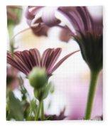 Flower Background Fleece Blanket