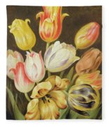 Flower Study Fleece Blanket
