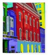 Fords Theatre Fleece Blanket