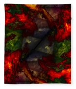 Formless And Void Fleece Blanket