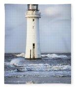 Fort Perch Lighthouse Fleece Blanket