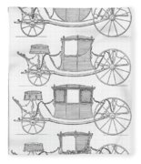 France Carriages, C1740 Fleece Blanket