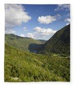 Franconia Notch State Park - White Mountains New Hampshire Usa  Fleece Blanket
