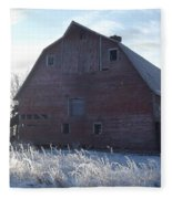Frosty Barn Fleece Blanket