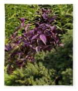 Garden Color At Woodward Park 8f Fleece Blanket