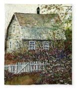 Garden Shed Fleece Blanket
