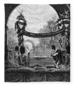 Garfield Funeral, 1881 Fleece Blanket