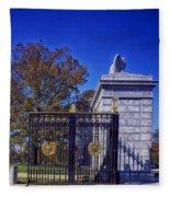 Gate To Arlington Cemetery Fleece Blanket