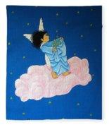 Gathering Starlight Fleece Blanket