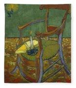 Gauguin's Chair Fleece Blanket