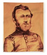 General Us Grant Fleece Blanket