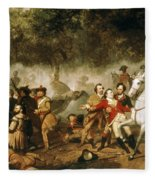 George Washington (1732-1799) Fleece Blanket